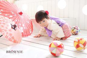 シオリちゃん 1歳のお誕生日